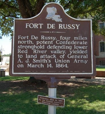 Fort De Russy Marker image. Click for full size.
