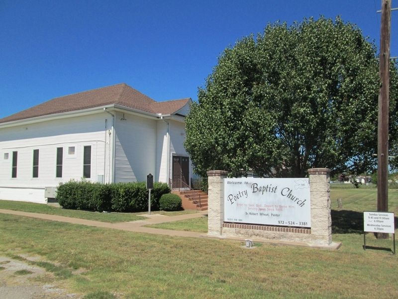 Poetry Baptist Church image. Click for full size.