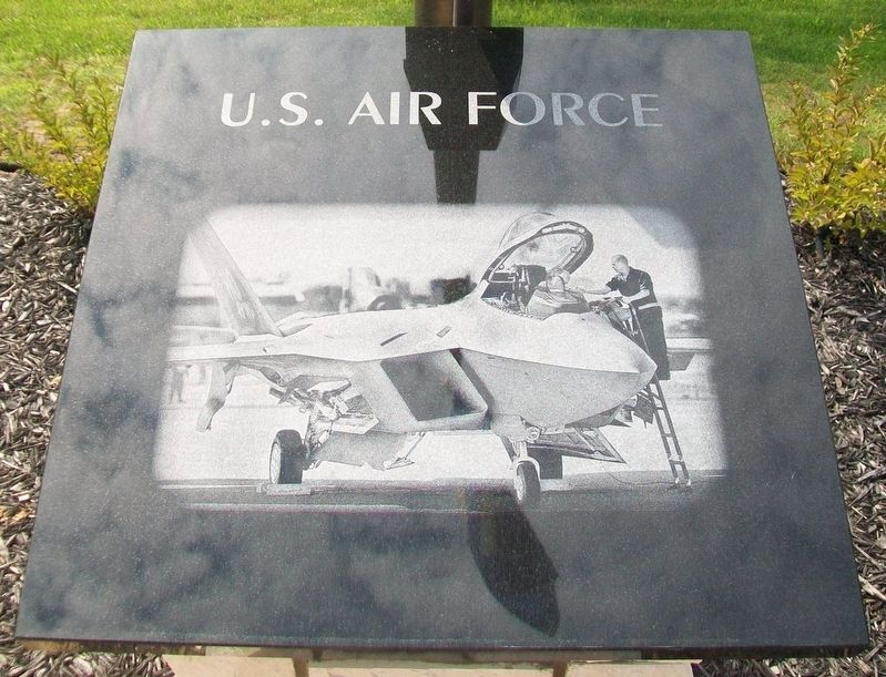 Veterans Memorial U.S. Air Force Marker image. Click for full size.