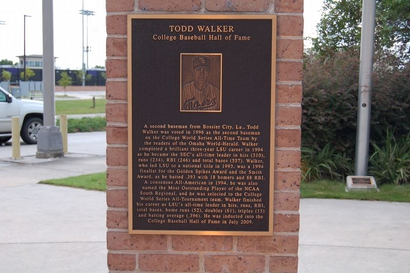 Todd Walker Marker image. Click for full size.