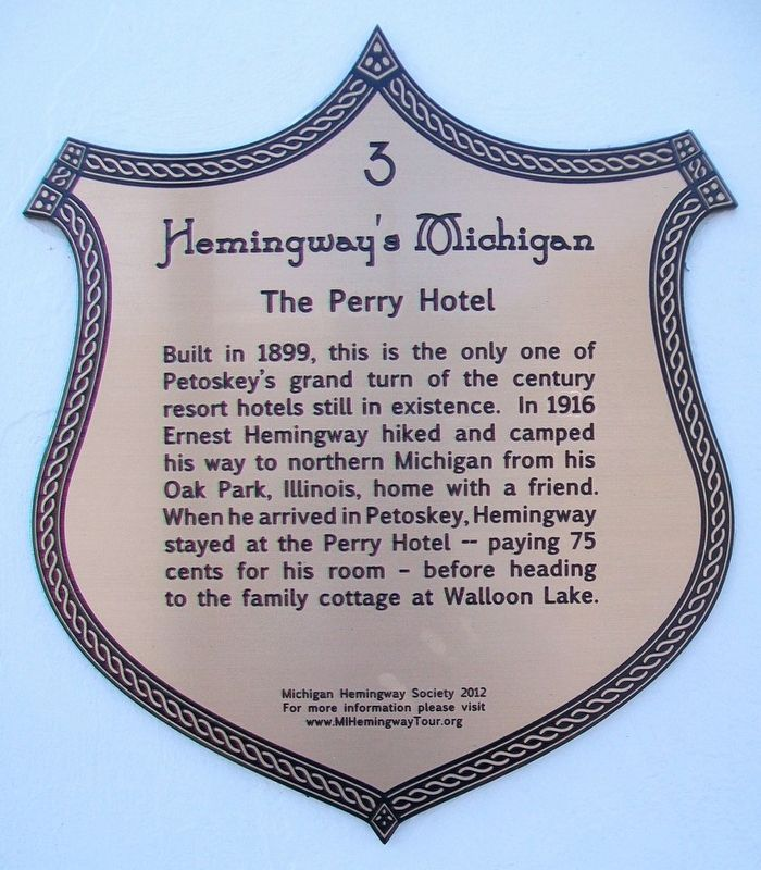 The Perry Hotel Marker image. Click for full size.