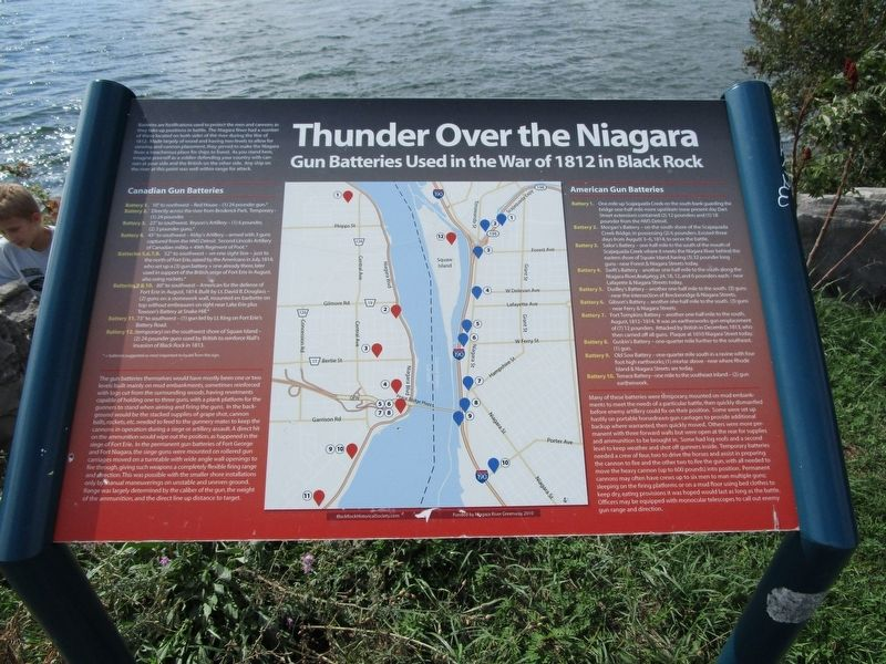 Thunder Over the Niagara Marker image. Click for full size.