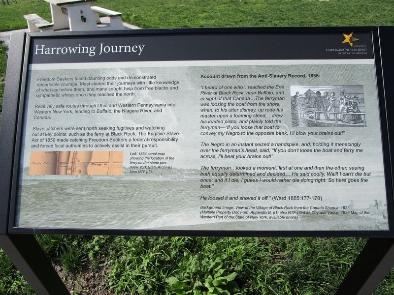 Harrowing Journey Marker image. Click for full size.
