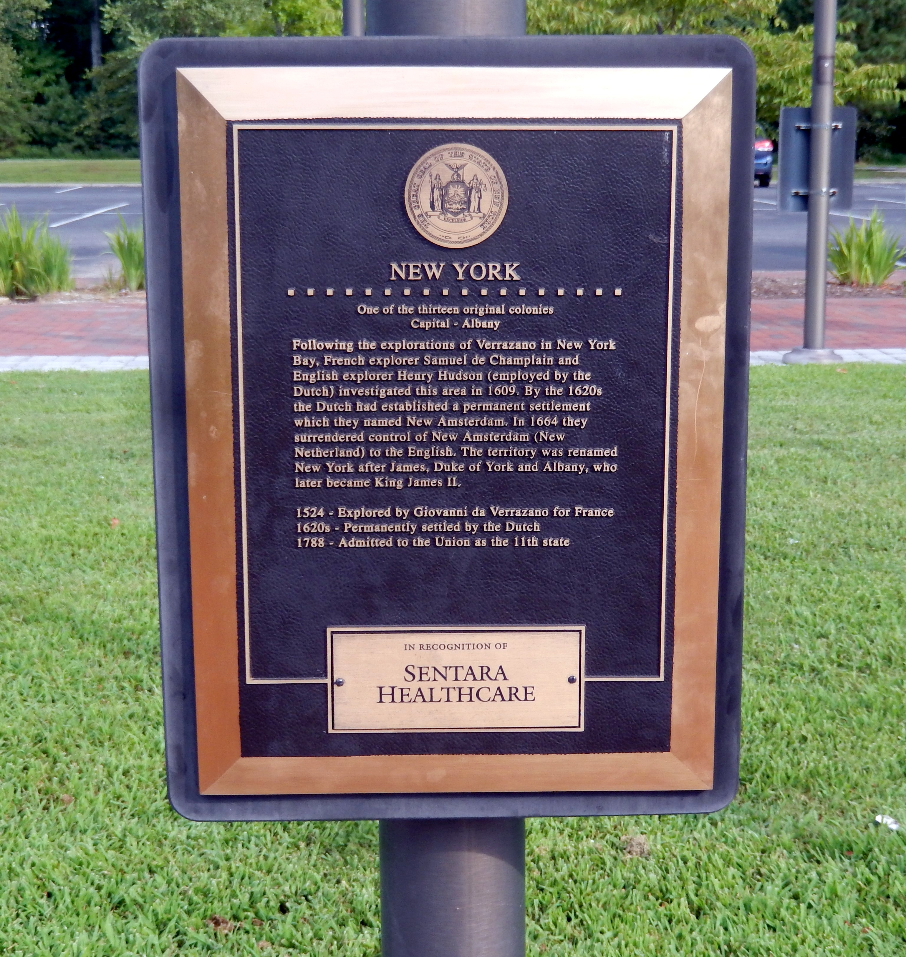 New York Marker