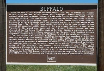 Buffalo Marker image. Click for full size.