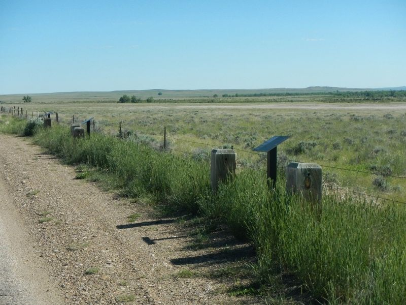 Taming the Powder River: The First Bridge Marker image. Click for full size.