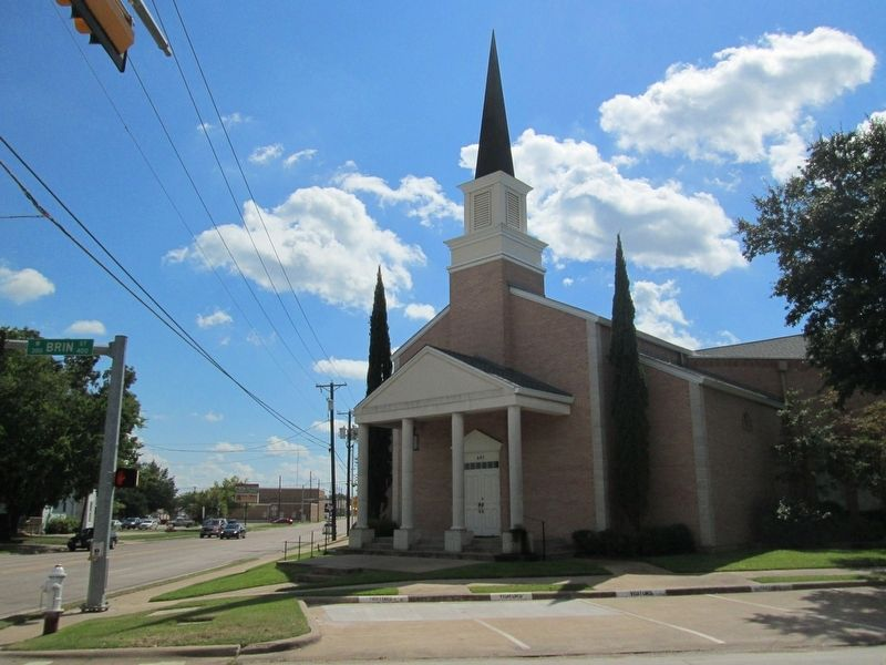 Rockwall and Brin Church of Christ image. Click for full size.