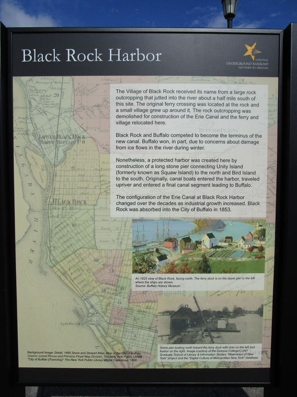 Black Rock Harbor Panel image. Click for full size.