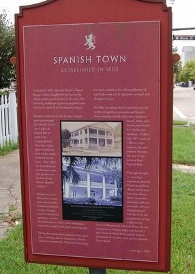 Spanish Town Marker image. Click for full size.