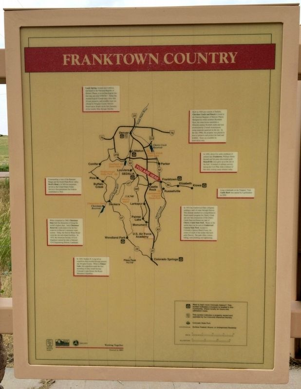 Map -Franktown Country (Panel 3) image. Click for full size.