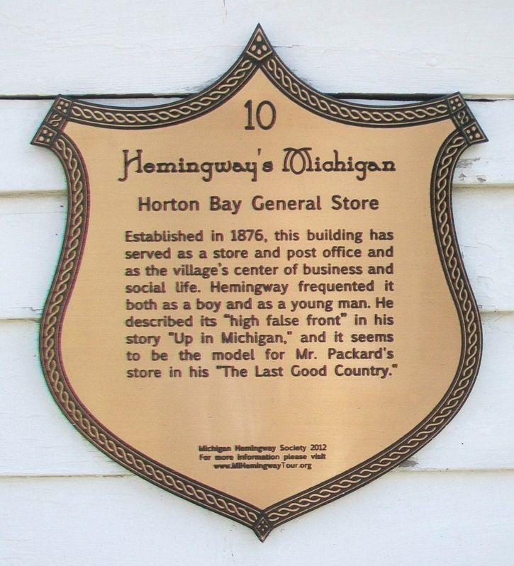 Horton Bay General Store Marker image. Click for full size.