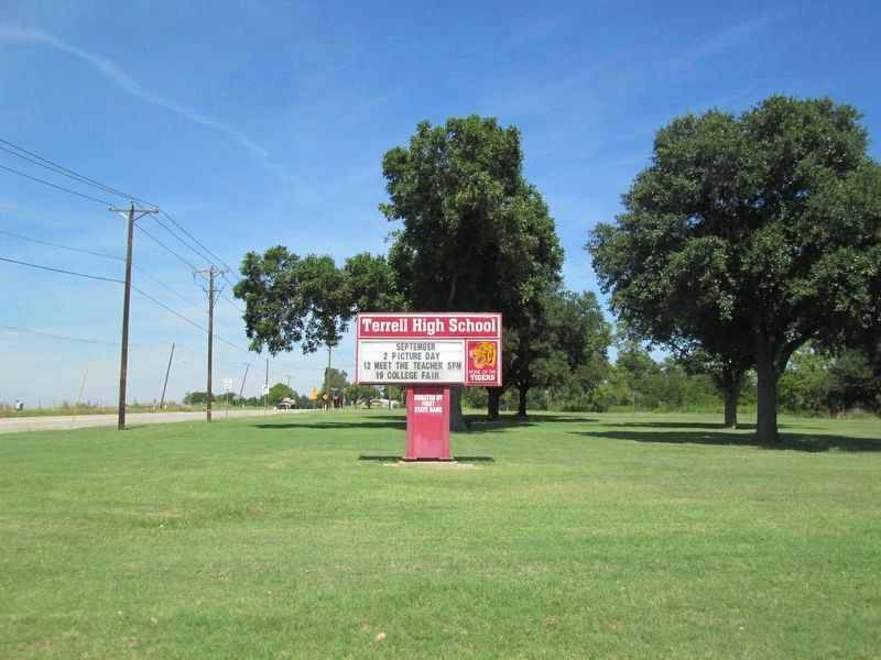 Terrell High School image. Click for full size.