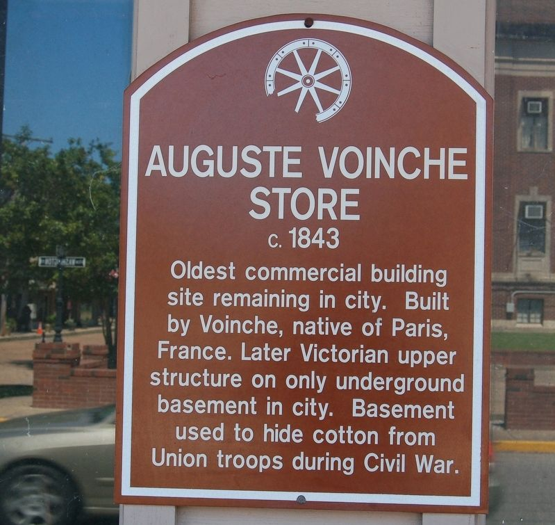 Auguste Voinche Store Marker image. Click for full size.