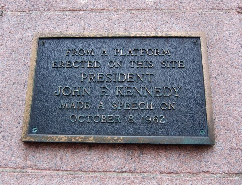 Kennedy Speech Marker image. Click for full size.