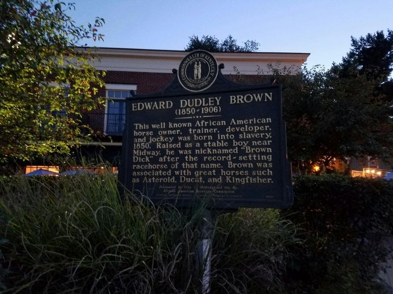 Edward Dudley Brown Marker image. Click for full size.