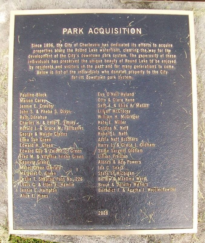 Park Acquisition Marker image. Click for full size.