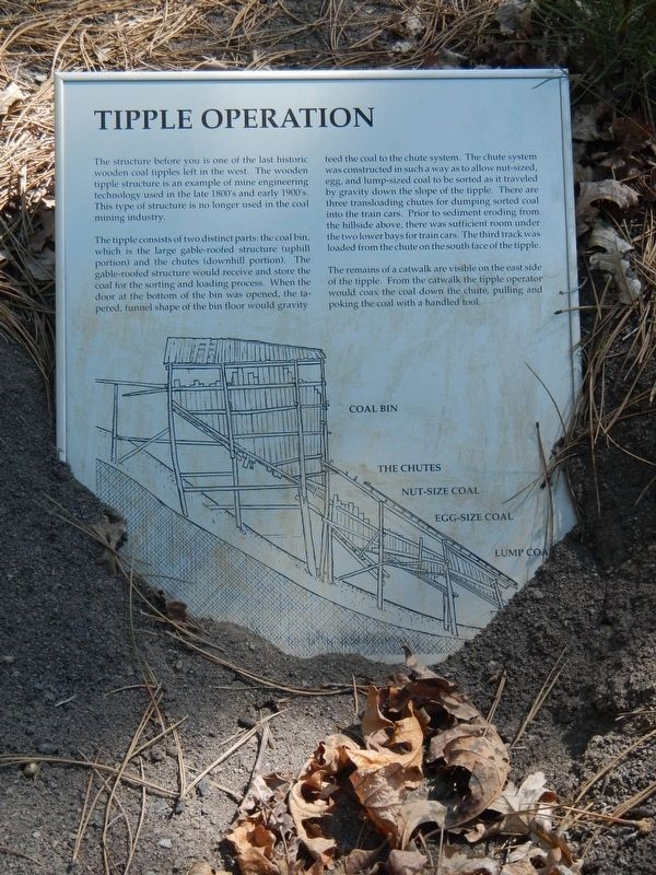 Tipple Operation Marker image. Click for full size.