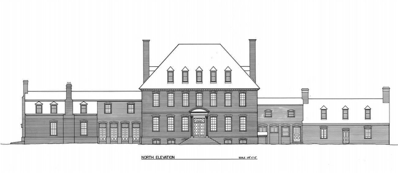 Westover - North Elevation image. Click for full size.