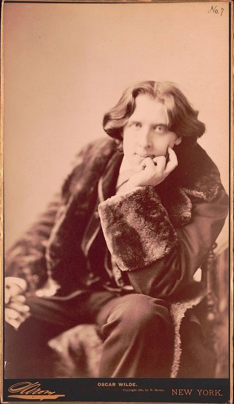 Oscar Wilde image. Click for full size.