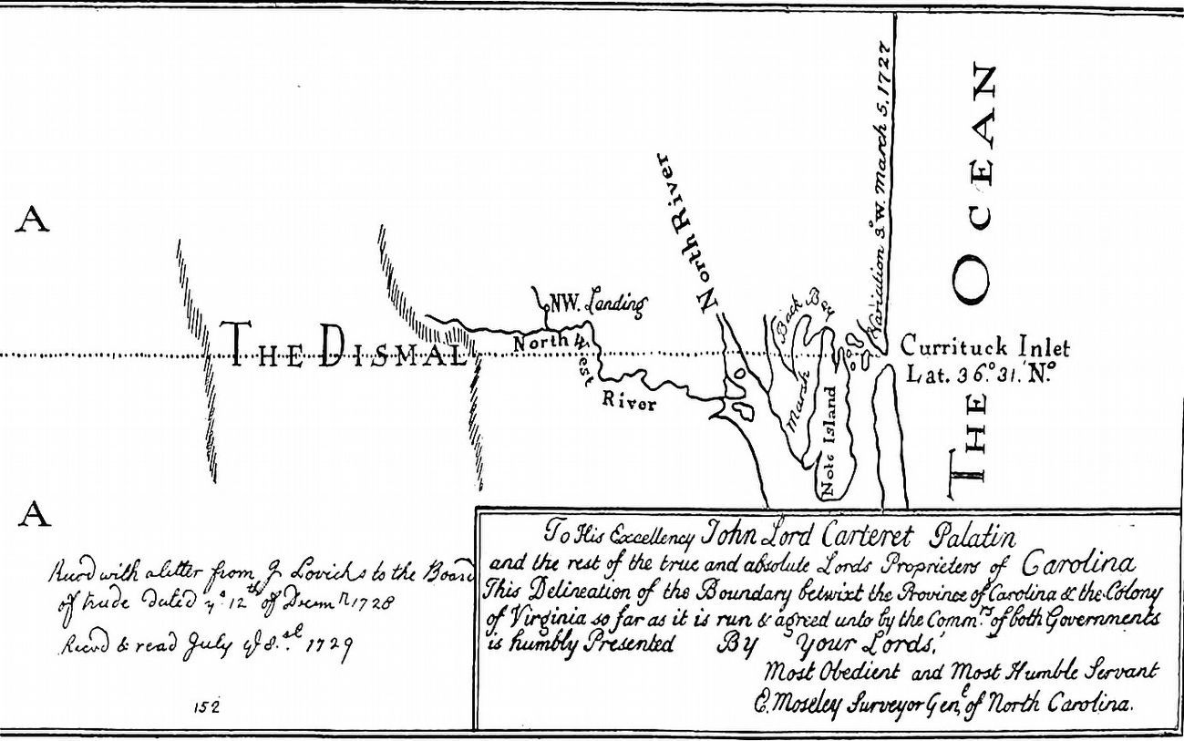 East End of the Dividing Line image. Click for full size.