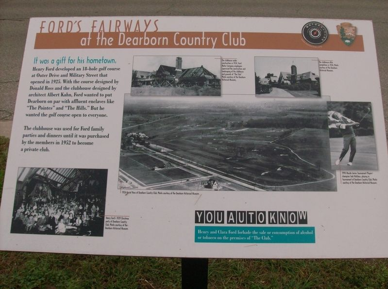 Ford's Fairways Marker image. Click for full size.