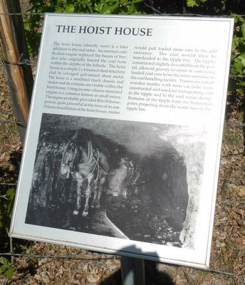 The Hoist House Marker image. Click for full size.