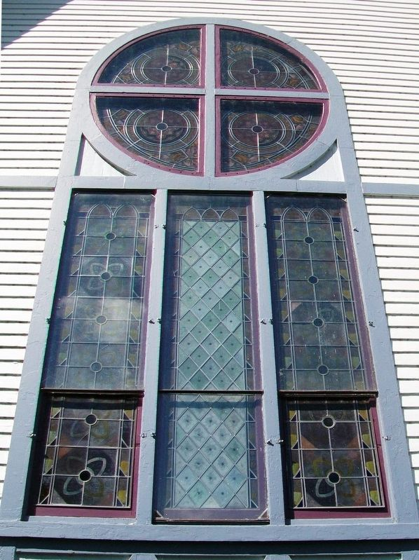 First Congregational Church East Elevation Window image. Click for full size.