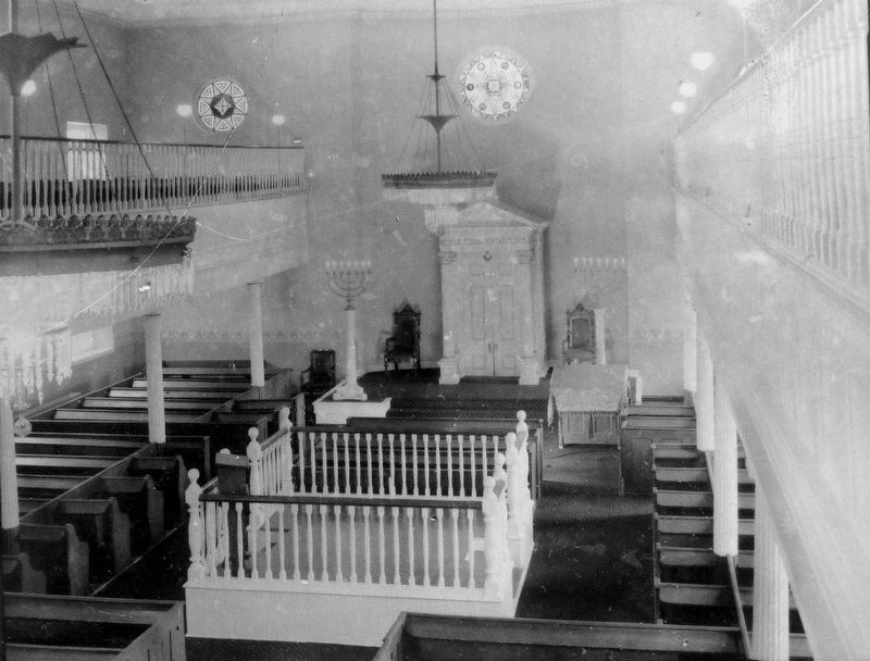 Lloyd Street Synagogue Interior image. Click for full size.