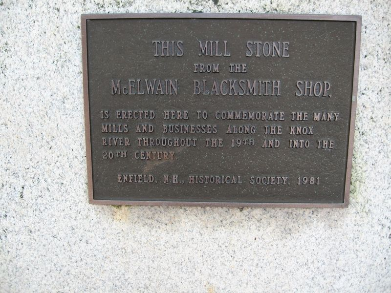 This Mill Stone Marker image. Click for full size.