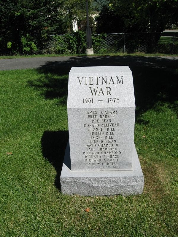 Enfield Vietnam War Monument image. Click for full size.