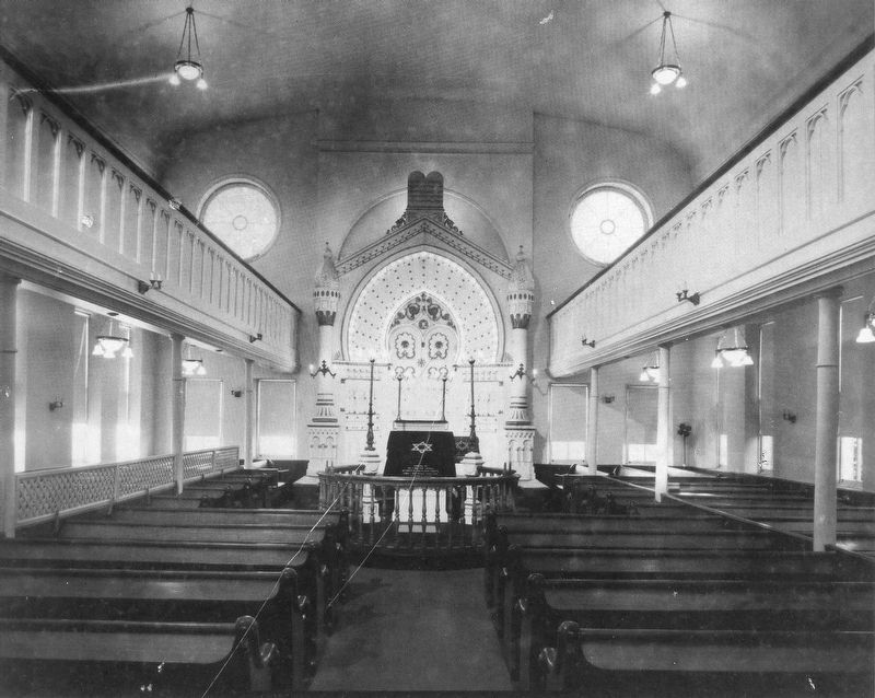 B'nai Israel Synagogue Interior image. Click for full size.