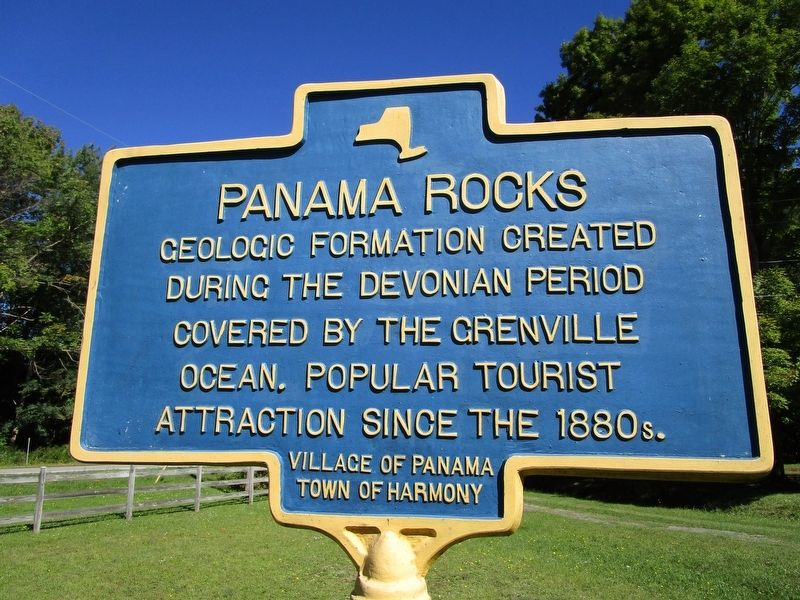 Panama Rocks Marker image. Click for full size.