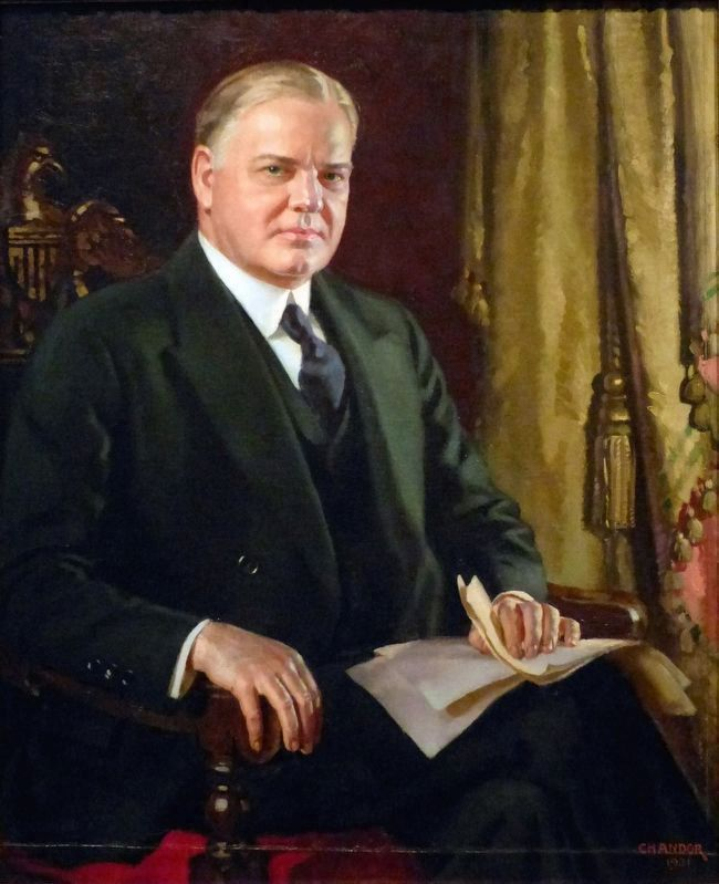 Herbert Hoover image. Click for full size.