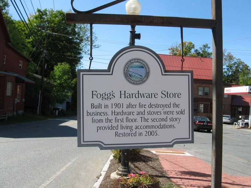Fogg's Hardware Store Marker image. Click for full size.