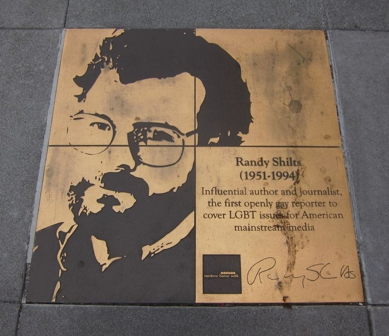 Randy Shilts Marker image. Click for full size.