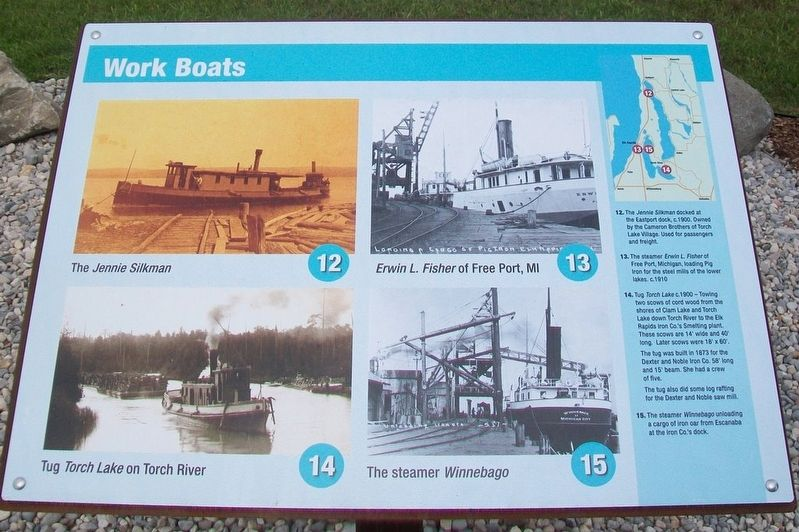 Because of the Water... Marker - Work Boats image. Click for full size.
