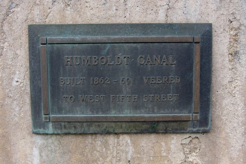 Humboldt Canal Marker image. Click for full size.