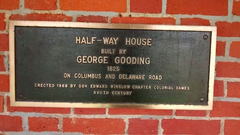 Half-way House Plaque image. Click for full size.