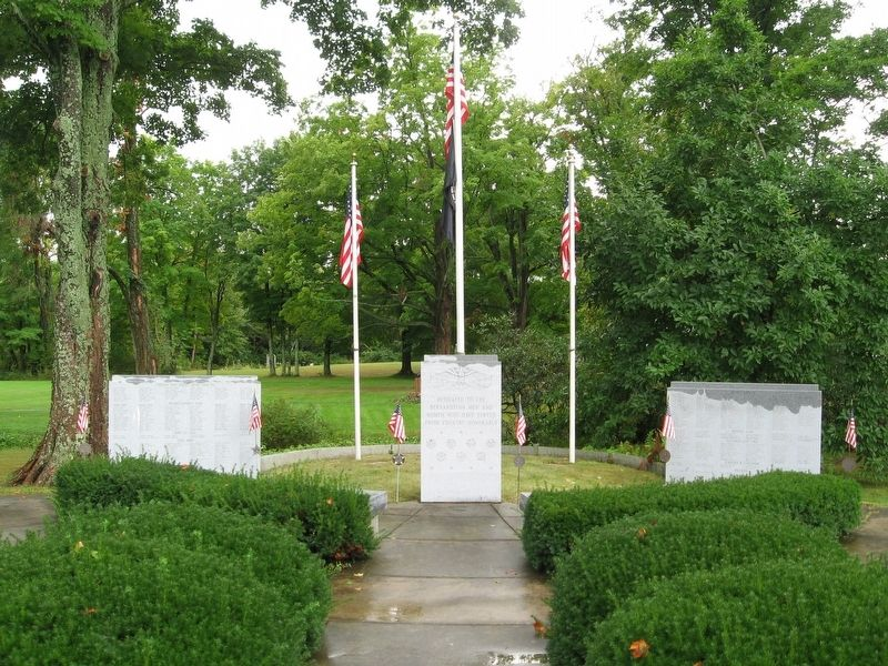 Bernardston Veterans Monument image. Click for full size.