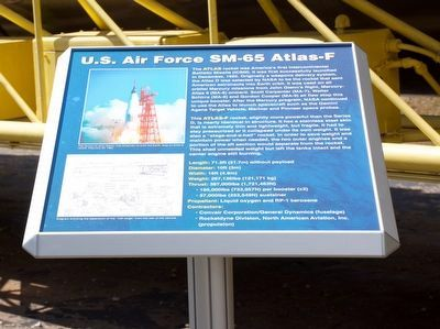 U. S. Air Force SM-65 Atlas-F Marker image. Click for full size.