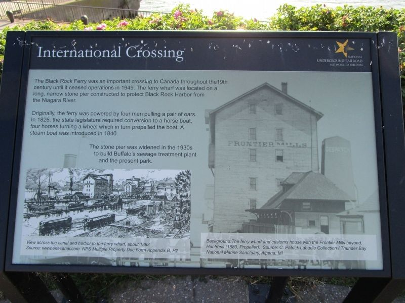 International Crossing Marker image. Click for full size.