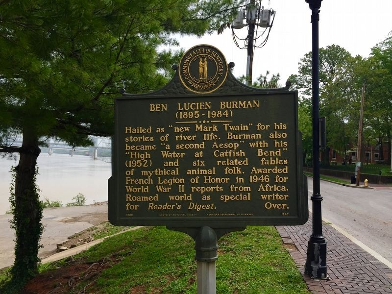 Ben Lucien Burman Marker - Reverse image, Touch for more information