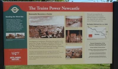 The Trains Power Newcastle Marker image. Click for full size.
