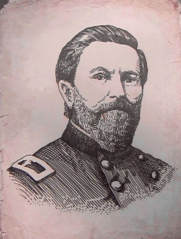Marker Inset 3 - Union Brigadier General James M. Schackelford image. Click for full size.