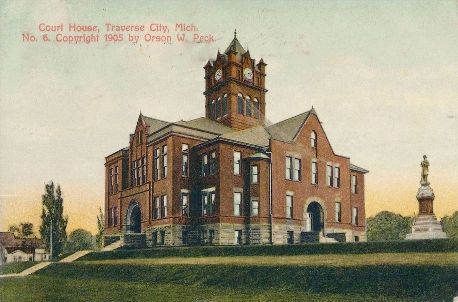 <i>Court House, Traverse City, Mich.</i> image. Click for full size.