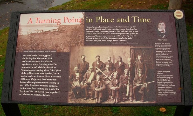 A Turning Point in Place and Time Marker image. Click for full size.