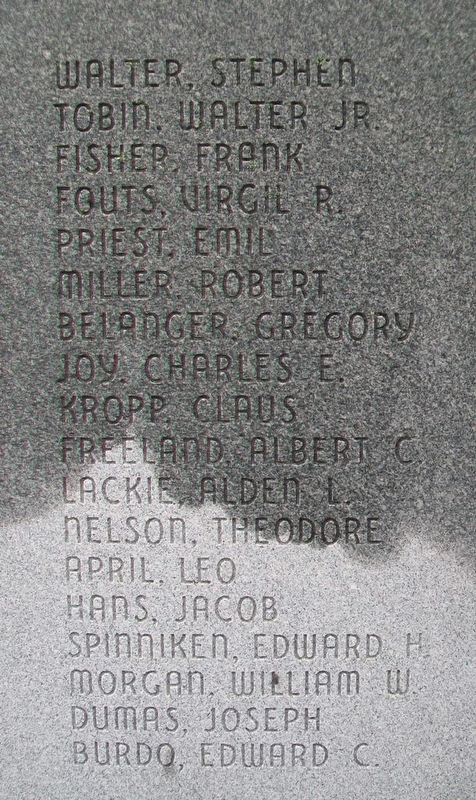 Veterans Memorial Honored Fallen image. Click for full size.