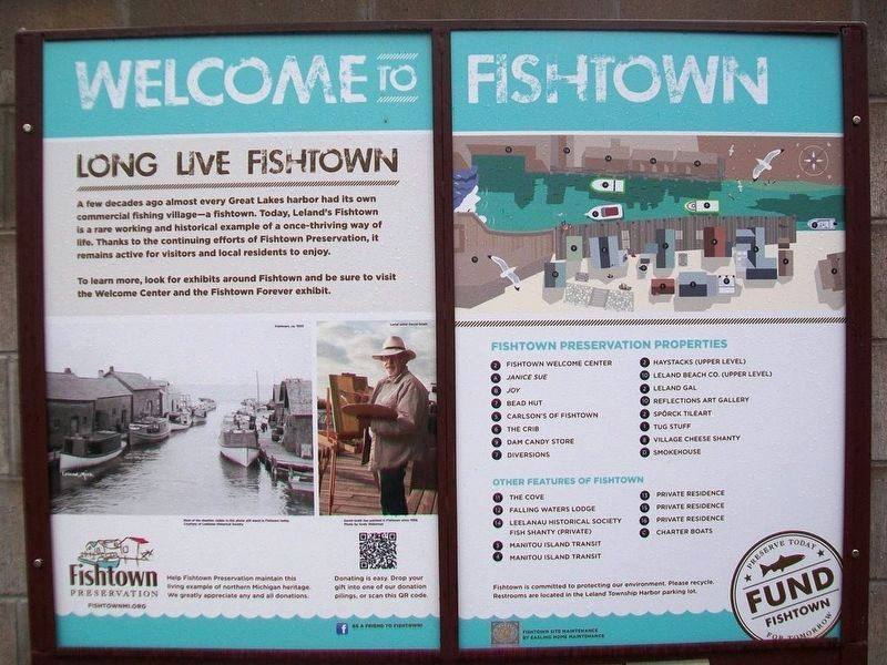 Welcome to Fishtown Sign image. Click for full size.
