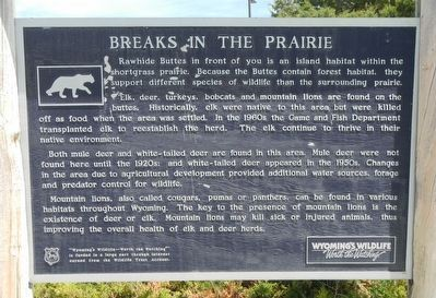 Breaks in the Prairie Marker image. Click for full size.