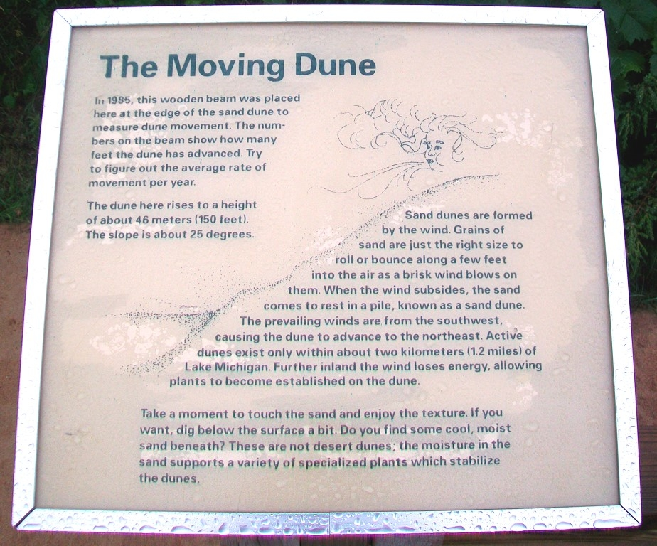 The Moving Dune Marker
